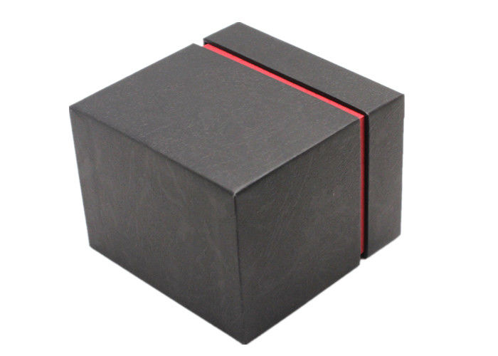 High Gloss Empty Watch Cardboard Box , Custom Elegant Style Bracelet Gift Box